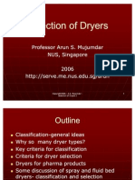 Selection of Dryers I- India