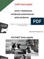 Presentación YOCTOBIT Teatro Jugable (Camon Madrid)