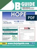 The Job Guide Volume 23 Issue 14 Arkansas
