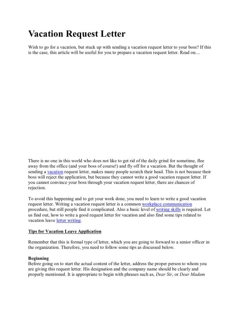 Vacation request letter 1537167152v1 altavistaventures Gallery