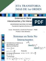 05) Sistema en Serie Interacturante y No Interacturamte