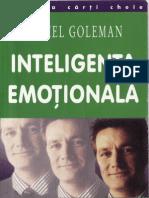 Daniel Goleman - Inteligenţa emoţională