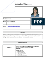 Lara CV Updated