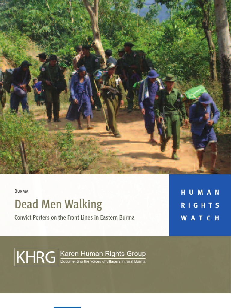 Dead Men Walking-OnlineVersion-photo feature -summary | Myanmar |  International Labour Organization