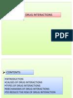DRUG INTERACTIONS.pptx Presentation