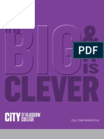 City of Glasgow College - Full Time Prospectus 2011-2012