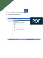 Starting SAP 2003