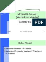 Mekanika Bahan I Materi 1
