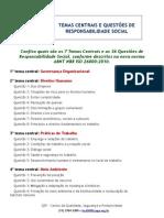 ISO 26000_Temas Centrais e Questões de Responsabilidade Social