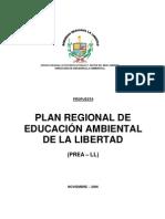 Propuesta de Plan Regional de Educación  Ambiental Regional  de La Libertad