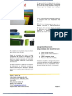 Plasticos y Acrilincos de Ingenieria