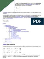 En matemáticas y álgebra lineal