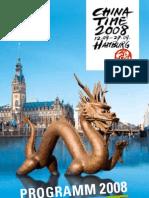 China Time 2008 Hamburg - programs