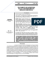 N-0006 - TRATAMENTO DE SUPERFÍCIES DE AÇO COM FERRAMENTAS MANUAISE MECÂNICAS