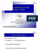 Business Modeling and UML