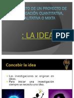 Diapositivas de La Investigacion