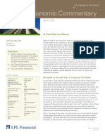 Weekly Economic Commentary 07-11-2011
