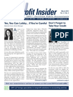 UHY Not-for-Profit Newsletter - March 2011