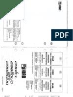 MX-M363N Manual Hiab