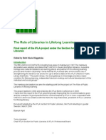 Lifelong Learning Report