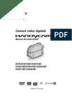 Instructiuni Camera Sony