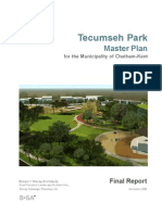 Tecumseh Park Master Plan