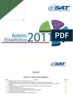 Boletin Estadistico a Marzo 2011