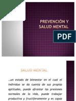 Prevención y salud mental