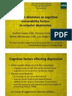 Personal Dilemmas as Cog Vulnerability Factors in Dep_rev