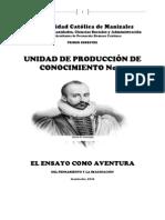 UDPROCO 2 EL ENSAYO