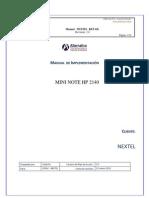 Manual para Técnico desplegador de imagenes
