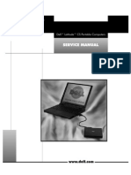 Dell Latitude CS Portable Computers Service Manual