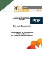Guia502 Educacion Especial Psicologia 2011