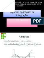 Algumas aplicações de integração