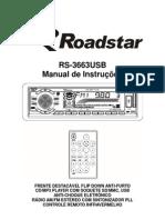 roadstar RS3663