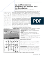 Design and Construction of Offshore Wind Turbine Foundations