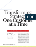 Transforming Strategy - One Customer at a Time