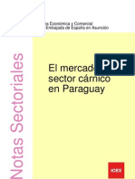 Sector Carnico en Paraguay
