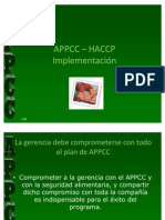 3 APPCC Implementación
