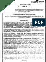 CNSC Resolucion 0598 del 15 de Marzo de 2011