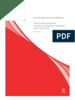 Better Regulation Handbook_Jan2010