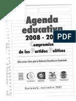 Agenda Educativa 2008-2012