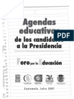Agendas Educativas