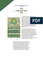 Calm & Clear - Mipham Rinpoche