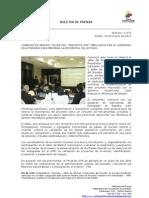 Comenzó en Madrid taller del Proyecto GPR impulsado por le gobierno ecuatoriano para mejorar la eficiencia del estado. foto 61