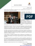 Temas migratorios fueron examinados por el embajador del Ecuador y la delegación del gobierno en Madrid. Foto74