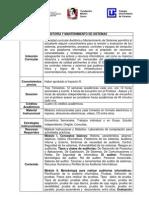 Auditoria y Mantenimiento de Sistemas