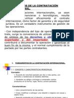 D CONTRATOS INTERNACIONALES