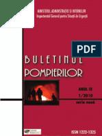 Buletin Pompieri 1-2010