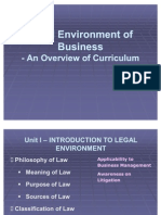 Legal Environment of Business - Model II